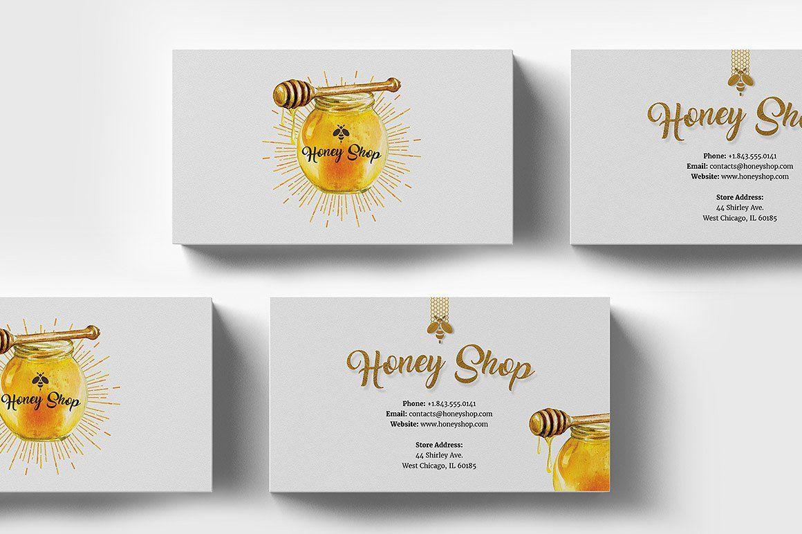 Картинки на визитки пчеловода
