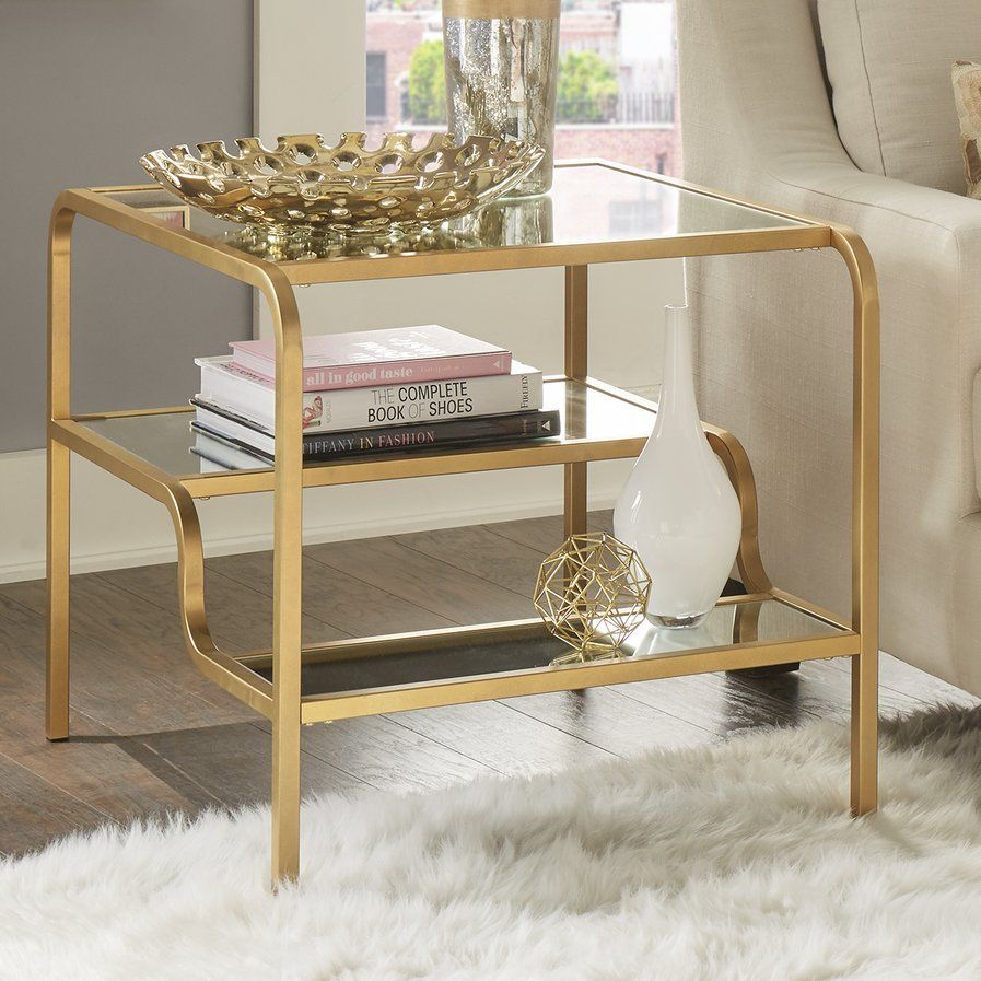 Dacia Mirror End Table