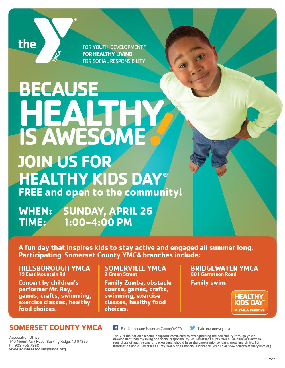 Pin By Amy Scott On Flyer Design Ymca Inspiration For Kids Somerset County