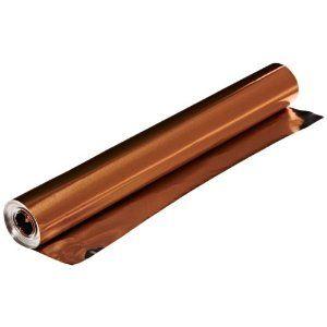 St Louis Crafts 38 Gauge Aluminum Foil 12 Inches X 25 Feet Copper Roll Only Copper Roll Aluminum Foil Colored Aluminum