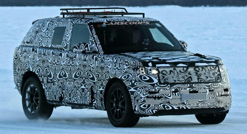 Pin By Professionally Enthusiastic On 2022 Range Rover Spied In