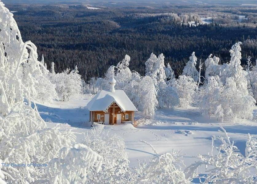 картинки красота русской зимы городе