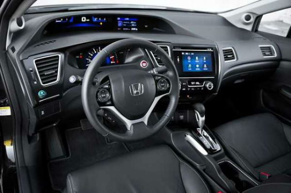 2016 honda civic coupe interior honda pinterest - 2016 honda civic si coupe interior ...
