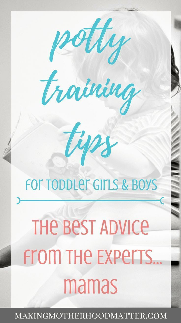 Pin on Potty training tips for Boys & Girls