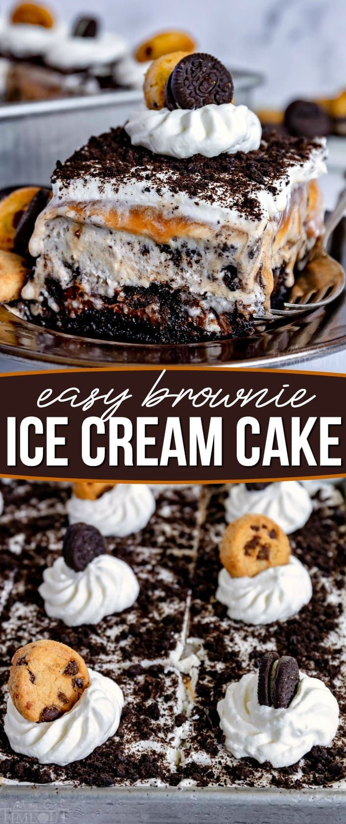 Easy Ice Cream Cake - Mom On Timeout