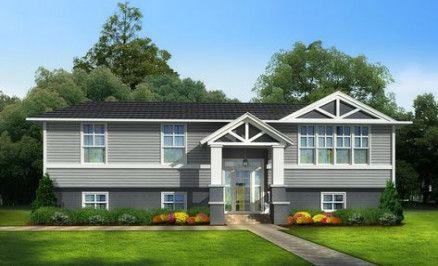 Exterior House Colors Split Level Front Porches 29 Trendy Ideas Split Level Remodel Exterior Split Level House Exterior Raised Ranch Remodel