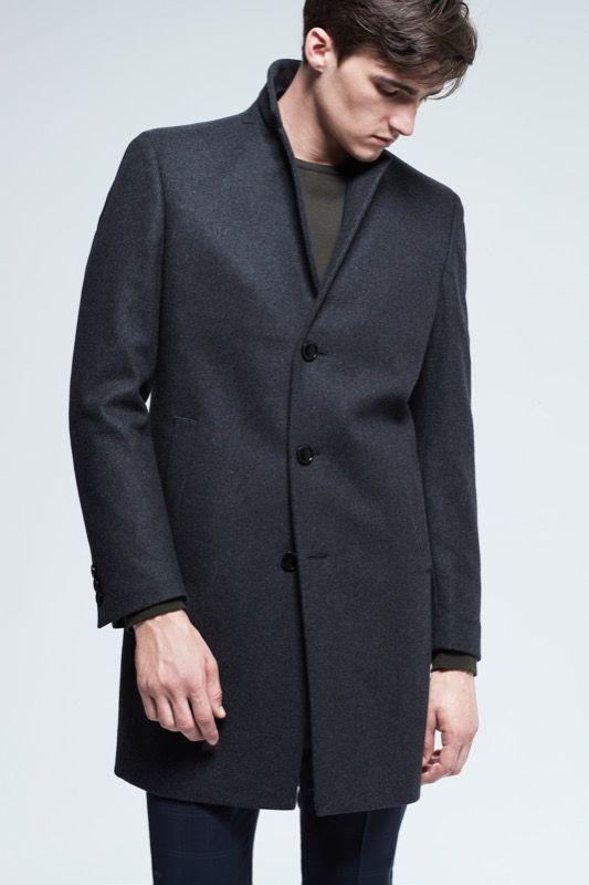 Coat Lawson, anthracite
