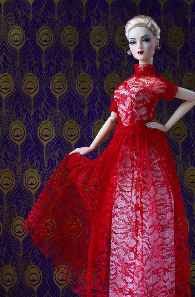 with Mel Odom's Zita Charles as manufactured by JAMIEshow Dolls.