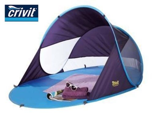 Crivit-Rapid-Pop-Up-Beach-Tent-UPF-50-  sc 1 st  Pinterest & Crivit-Rapid-Pop-Up-Beach-Tent-UPF-50-Sun-Shade-Shelter | san ...