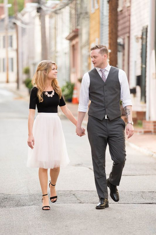 Victoria + Zac | Annapolis, MD | Candice Adelle Engagement Photography