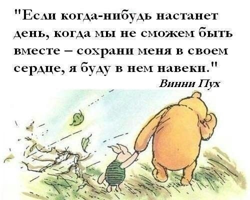 Цитаты | Pooh quotes, Cute love quotes, Winnie the pooh quotes