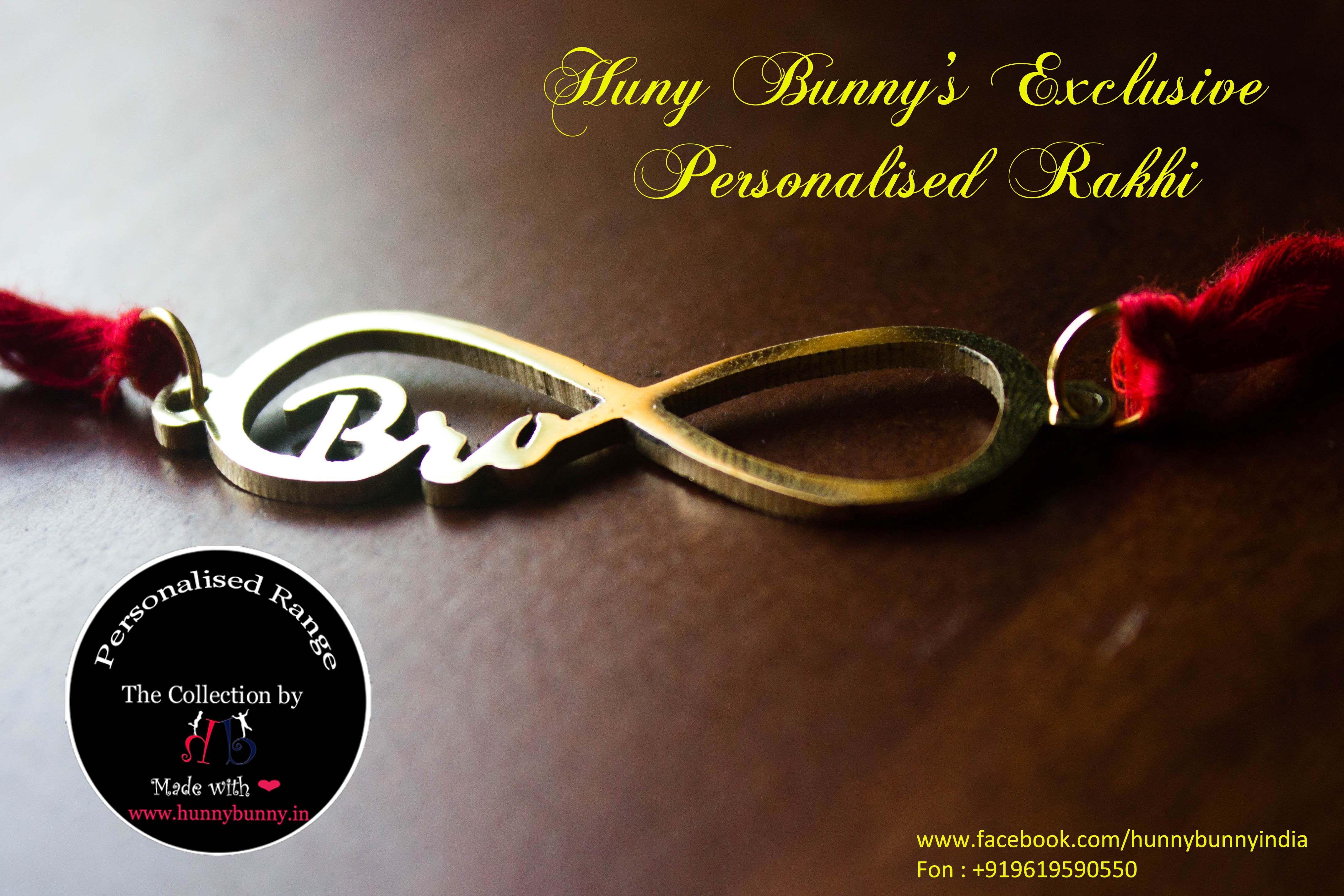 Personalised Name Rakhi Personalised Personalisedbro Love