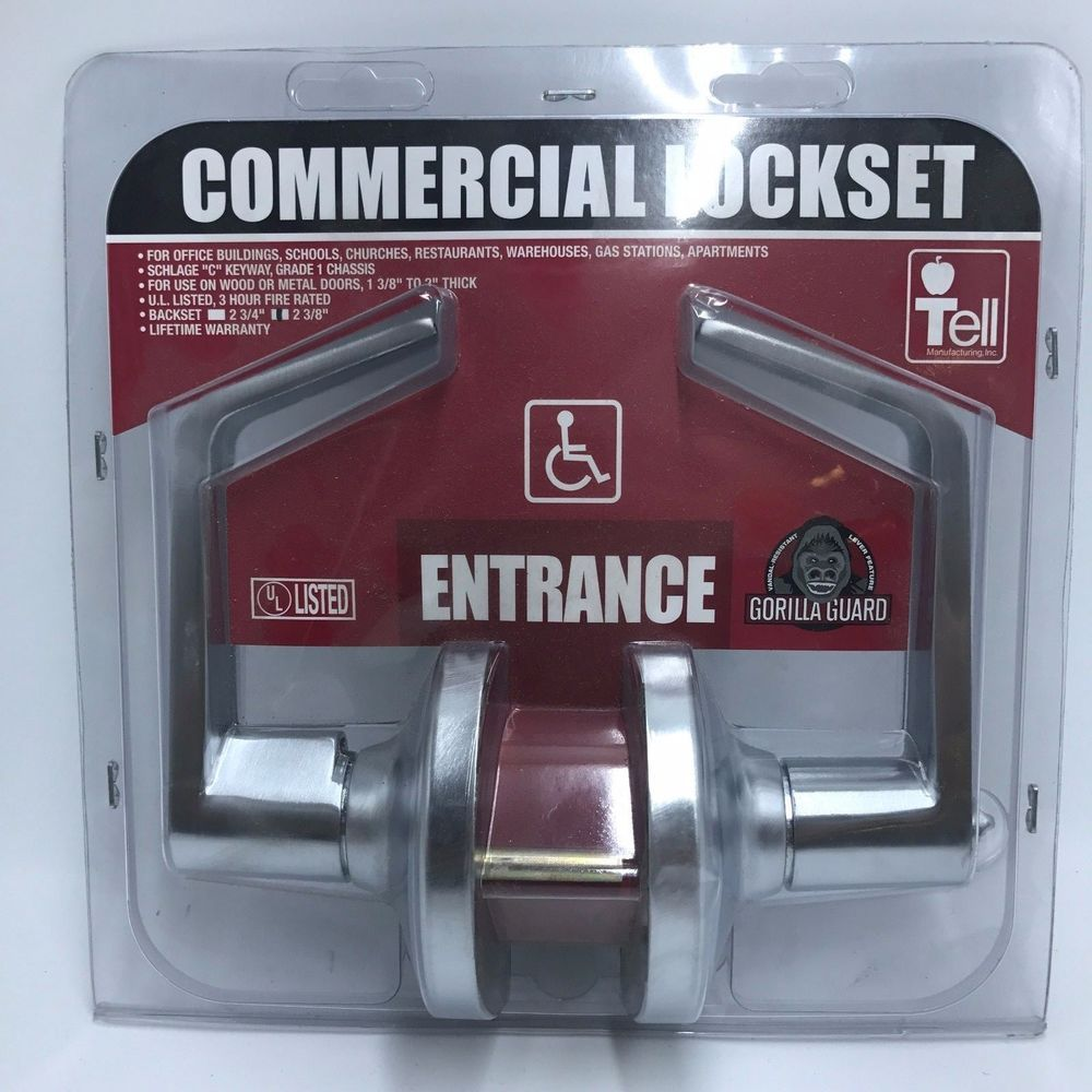 Tell Manufacturing CL100012 Lever Entry Lock