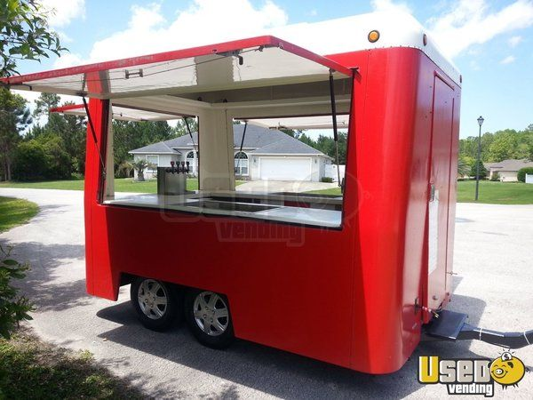 7 X 10 Concession Trailer For Sale In Florida Concession Trailer For Sale Food Trailer For Sale Food Trailer