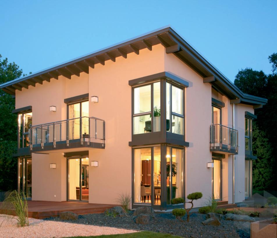 Bravur 550 - Musterhaus Bad Vilbel von Finger Haus hat 5,5 zimmer ...