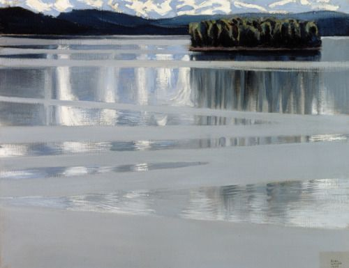 Lake Keitele, 1905Akseli Gallen-KallelaFinnish, 1865-1931 Oil on canvas, 53 x 67 cmLahti Art Museum