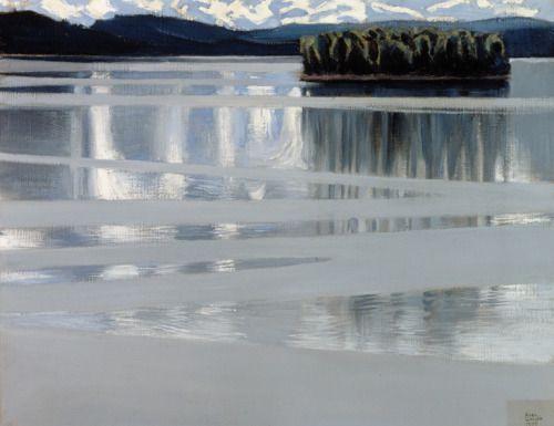 Lake Keitele, 1905Akseli Gallen-KallelaFinnish, 1865-1931 Oil on canvas, 53 x 67 cmLahti Art Museum
