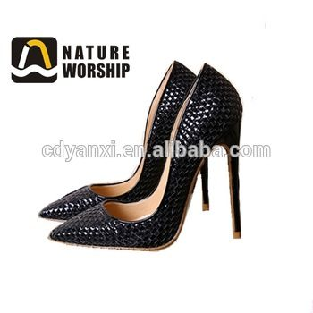 Fashion Girls Korean Style High Heel Pumps Simple Shoes, Wholesale ...