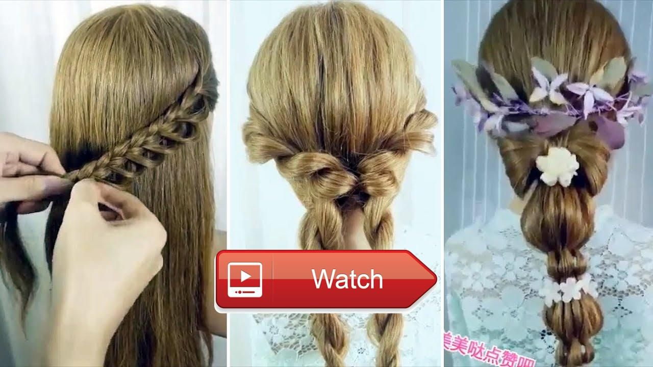 Top easy hairstyles for long hair best hairstyles for girls part