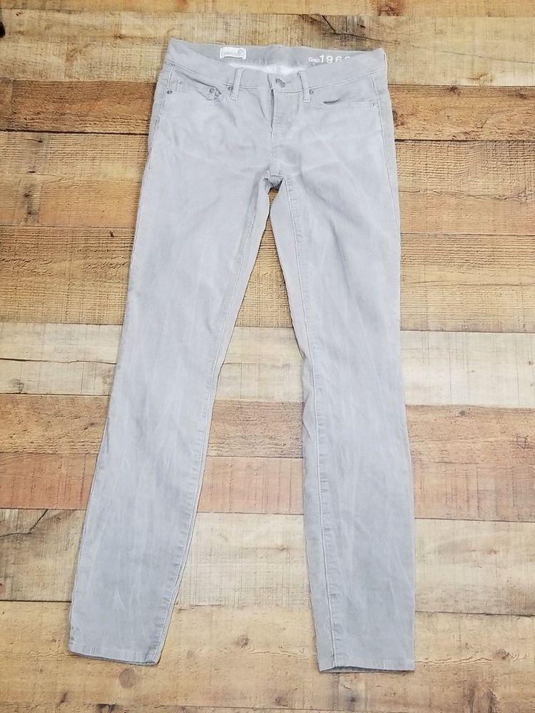 a6261e0d913 Gap Always Skinny Corduroy Pants size 25r 1969 Gray Corduroys size 0  Gap   Corduroys