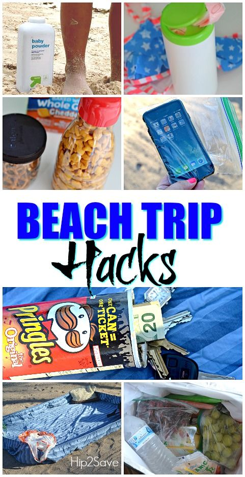Check Out These 7 Beach Trip Hacks