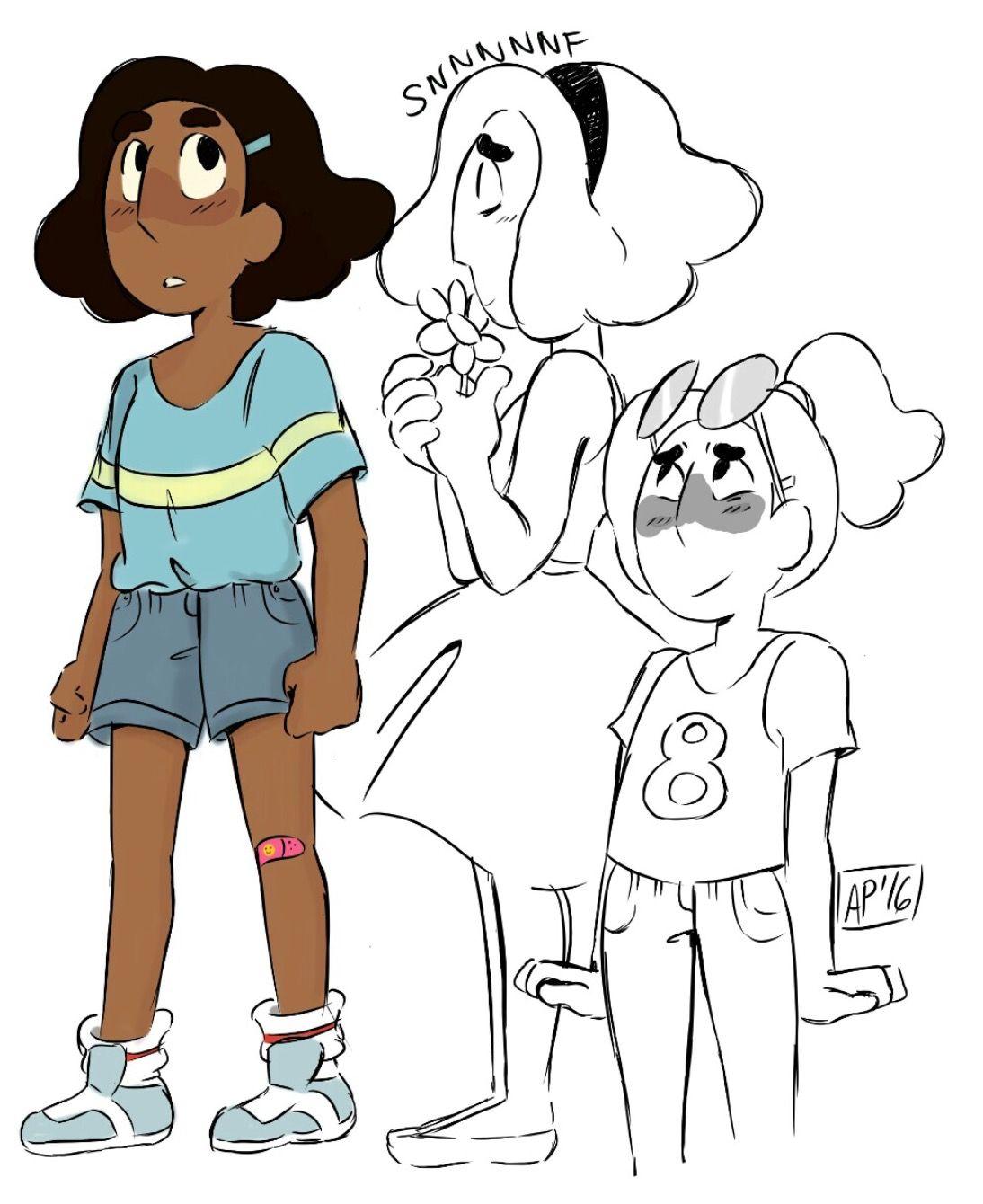 Connie Steven Universe Short Hair : connie, steven, universe, short, Dankus, Wizard, Steven, Universe, Connie, Universe,, Fanart