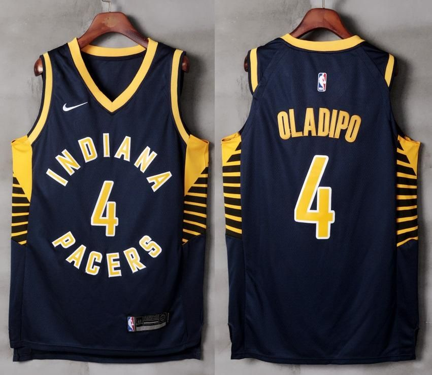 4146c40dd219 ... canada mens indiana pacers 4 victor oladipo jersey black navy authentic  player version 25d9a b5463