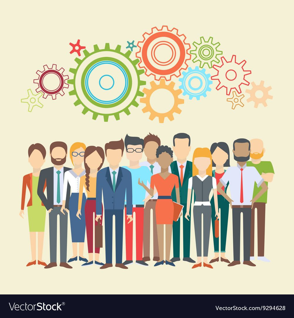 Set of business people Royalty Free Vector Image ,