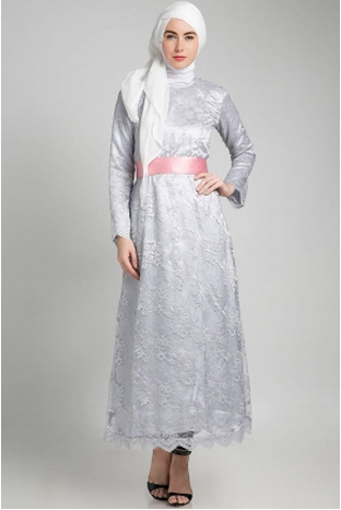 Model Dress Brokat Modern Reference Pinterest Gambar Baju