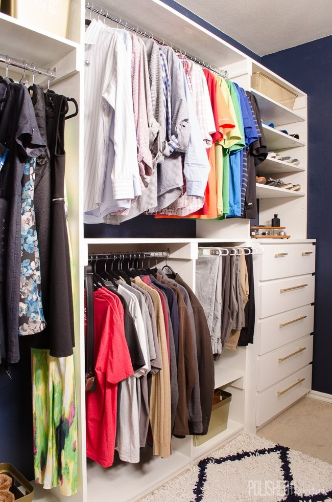 Closet Style The Difference Between Walk In Reach In Armoires Bedroom Organization Closet Diy Master Closet Ikea Closet Hack