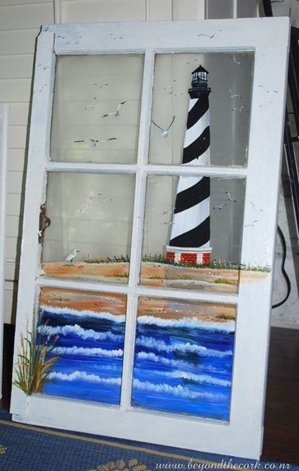 60 Window Glass Painting Designs For Beginners Glass