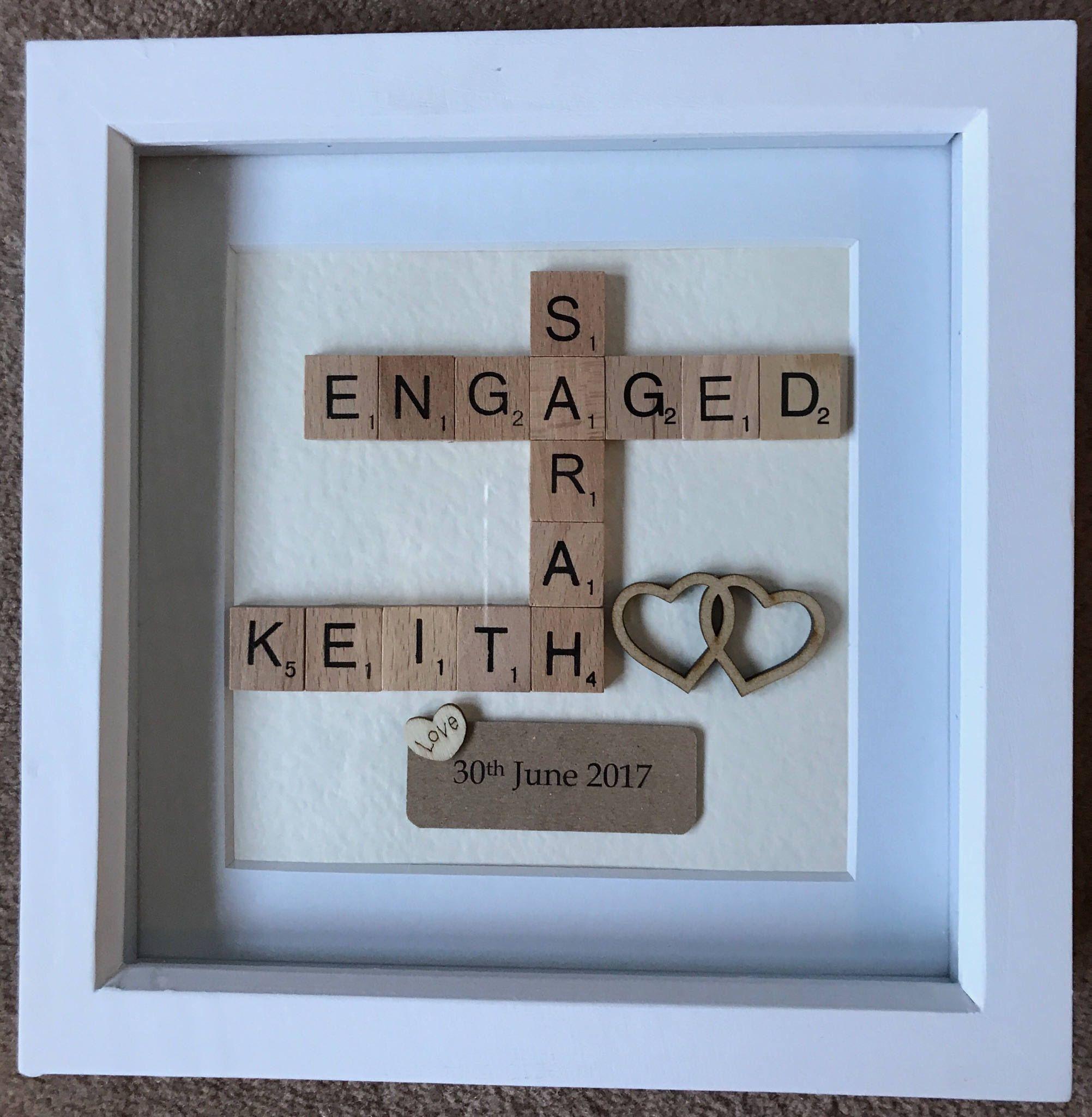 Pin by Zeba Neyazi on engagement | Pinterest | Scrabble, Keepsakes ...