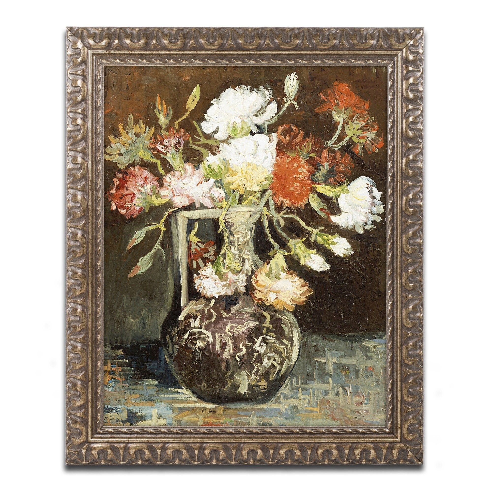 Bouquet of Flowers II by Vincent van Gogh Framed Painting Print