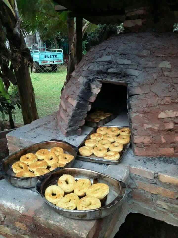 horno de barro y ladrillos tatakua paraguay