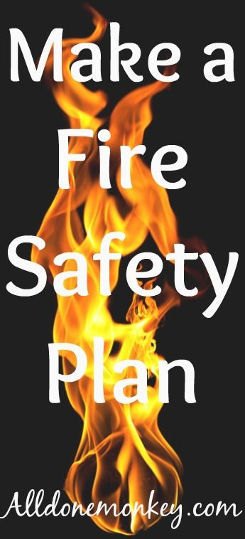 Fire Safety For Kids Make A Fire Safety Plan  Fire Prevention