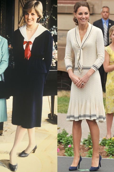 Princess Kate Is Flawless Diana At Buckingham Palace In Wearing Alexander Mcqueen Charlottetown Canada During The Royal Tour Of North America