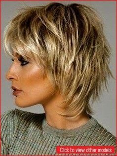 Short hairstyles have a wide variety and types - cool style