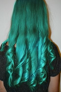 This website is lovely - tons of mermaid-dyed hair.