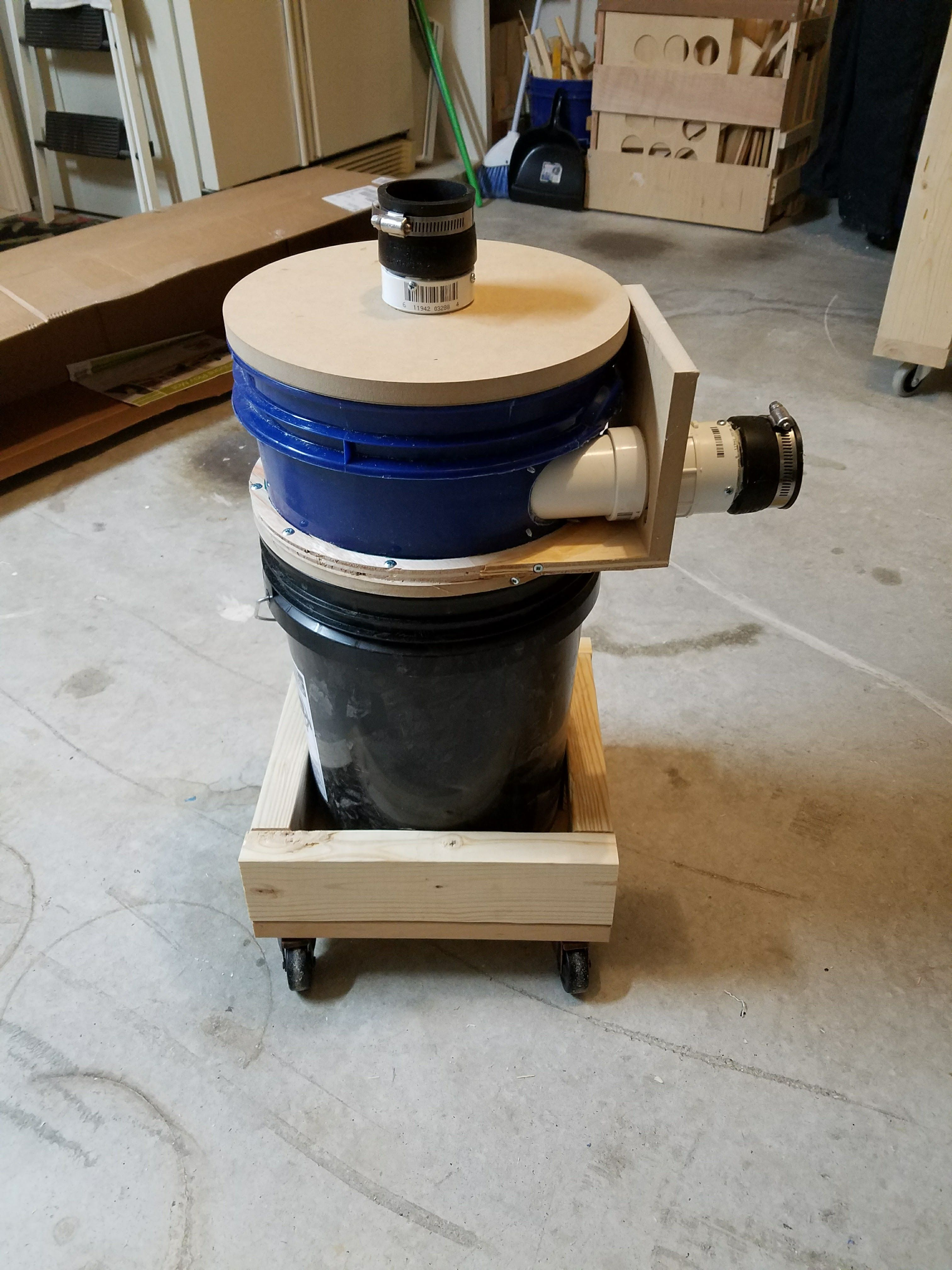 Diy Dust Collection I Made A Thien Baffle Quickcrafter Best
