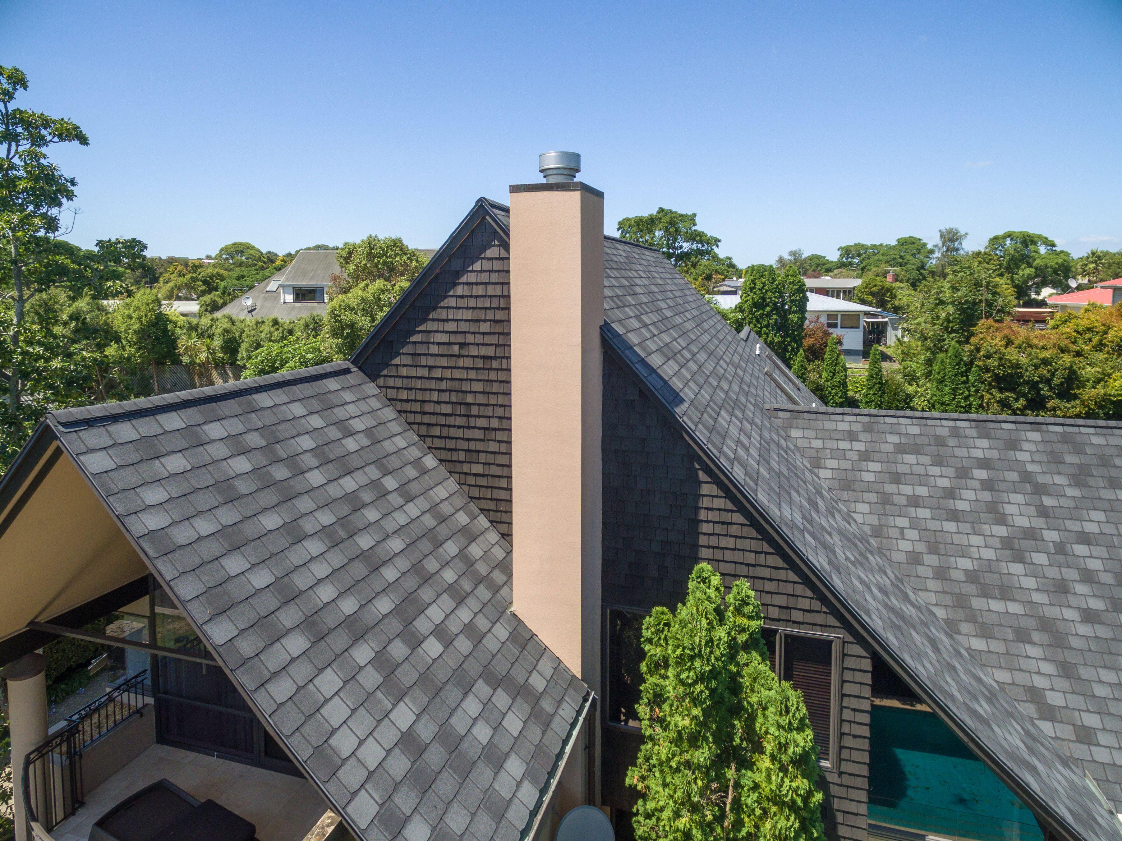 Viking Certainteed Highland Slate Black Granite Asphalt Shingles Dream House Exterior Roof Replacement Cost Slate Shingles