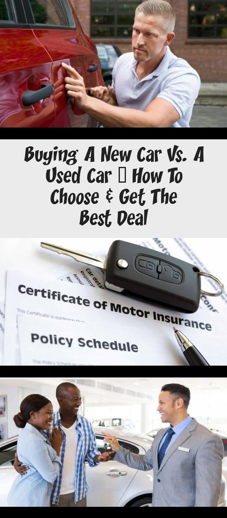 Buying a New Car vs. a Used Car How to Choose & Get the