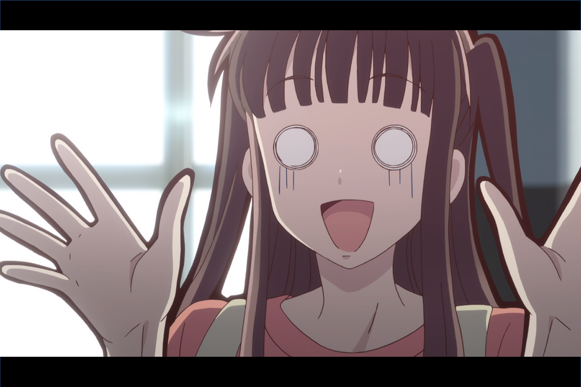 Another one of Tohru's suprised faces!!! Fruits basket