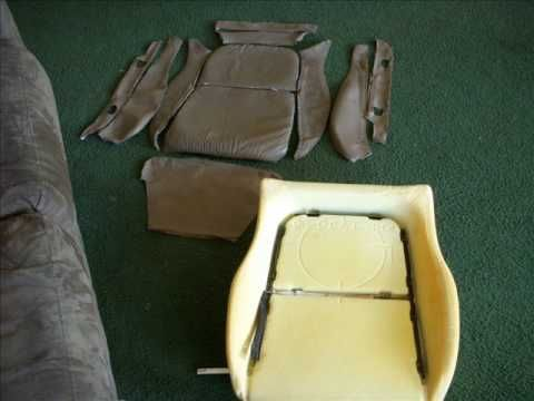 Im Learning How To Reupholster My Own Seats A Integra Gsr Seat
