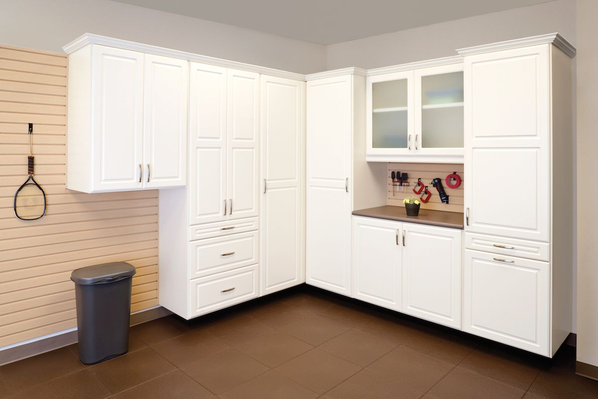 A Garage Is More Than Just Shelter For Your Vehicles That S Why We Custom Design And Build Our Custom Garage Cabinets Garage Cabinets Garage Storage Cabinets