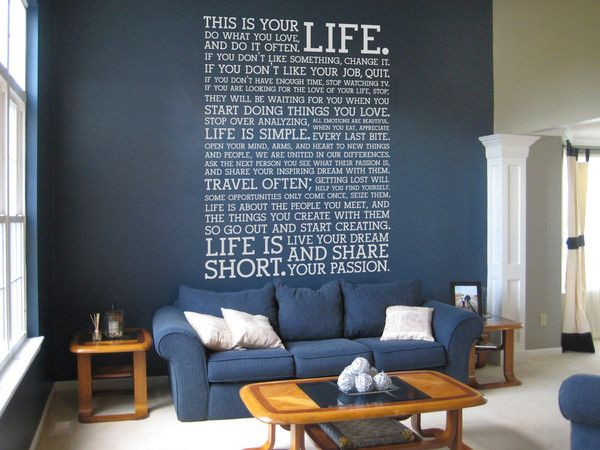 Extra Large Wall Stickers  www.Vinylimpression.co.uk