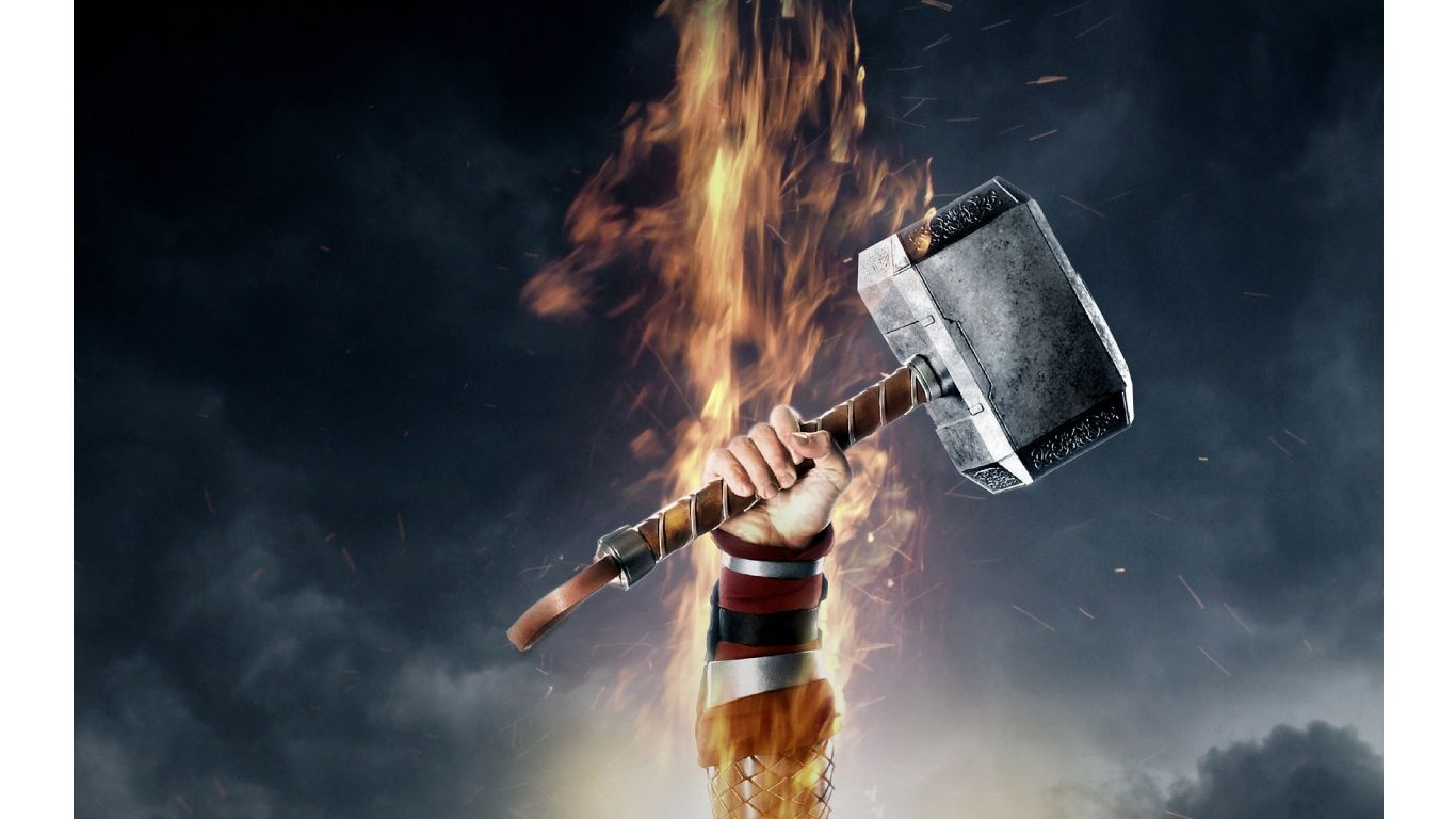 The Hammer Of Thor Movie Photes Wallpaper Description