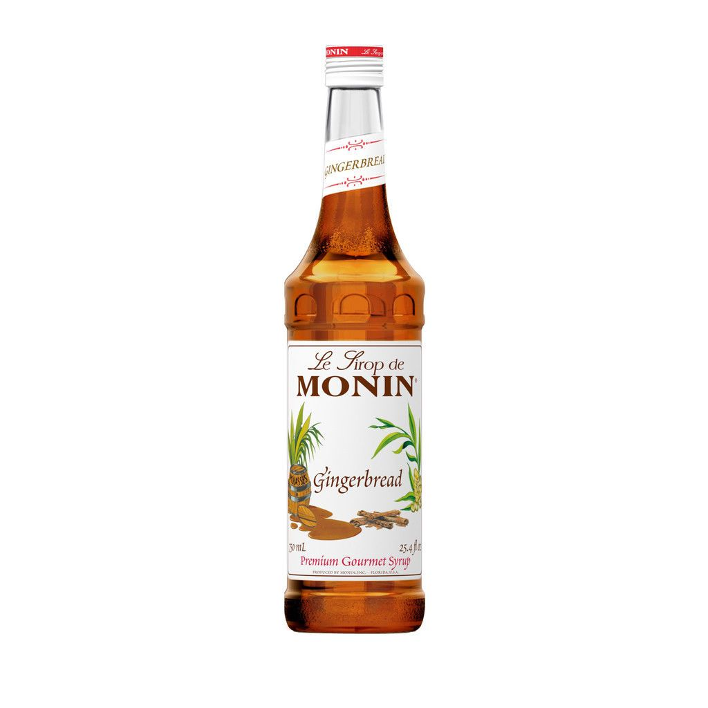 Coffee and soda syrups 79628 monin gingerbread syrup