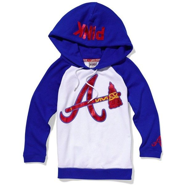 premium selection f1597 8e20a Victoria's Secret Atlanta Braves Baseball Hoodie ($39 ...