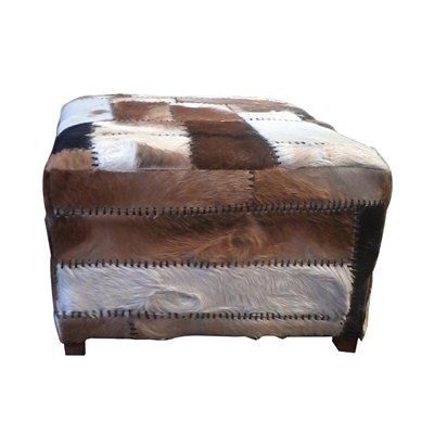 Eclectic Home Rome Large Ottoman