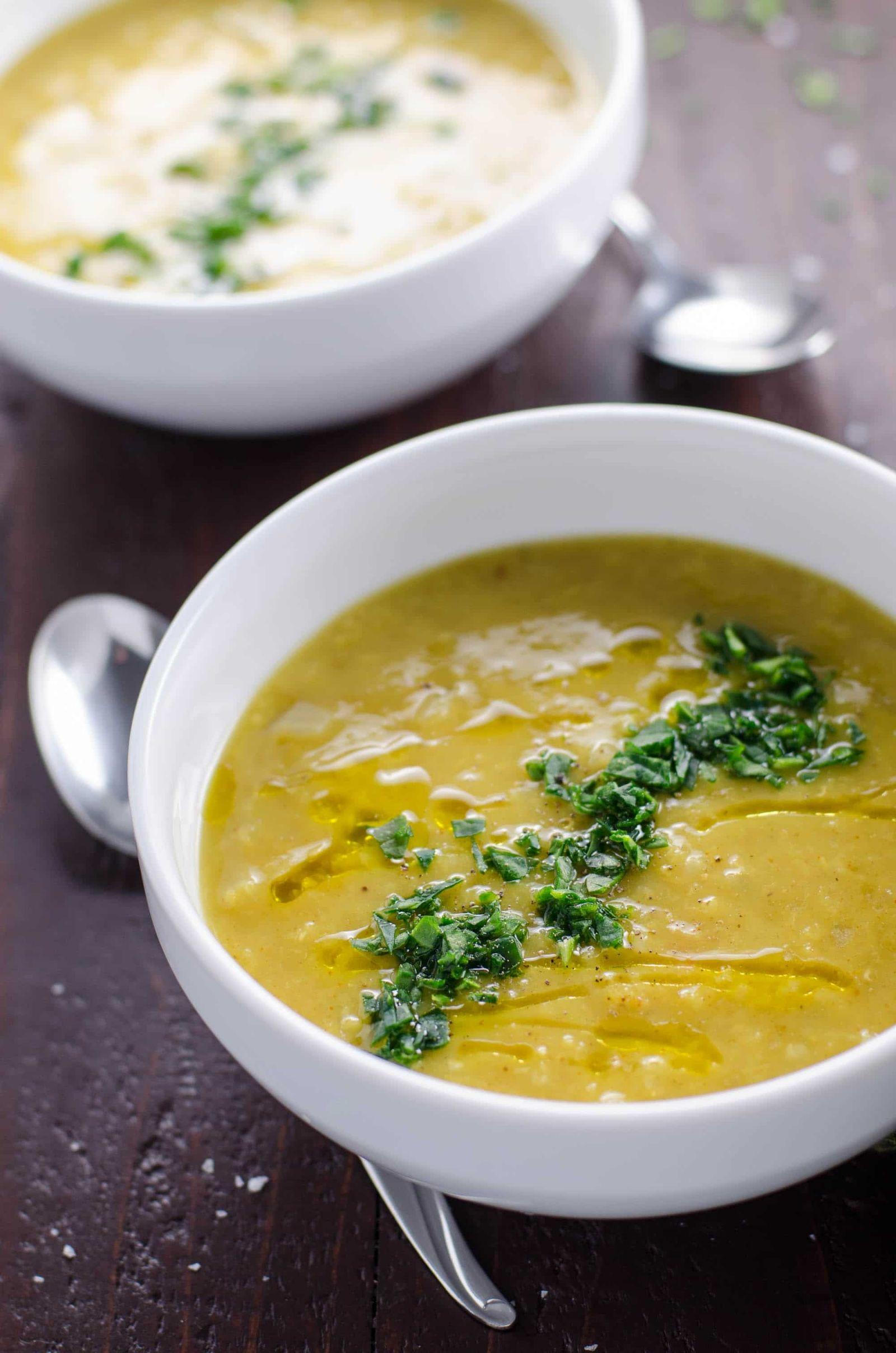 Laylas Lentil Soup Easy Vegetarian Red Lentil Soup